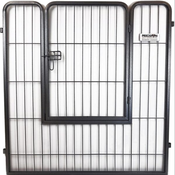 Precision Pet Dog Crate Courtyard Play Pen Step Thru Door Panel