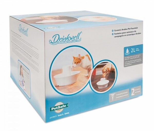 Box for Drinkwell Avalon Ceramic Pet Fountain - 2 Litres