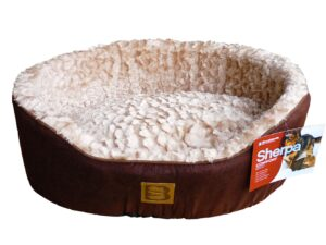 Sherpa Sheep Skin Style Dog Bed