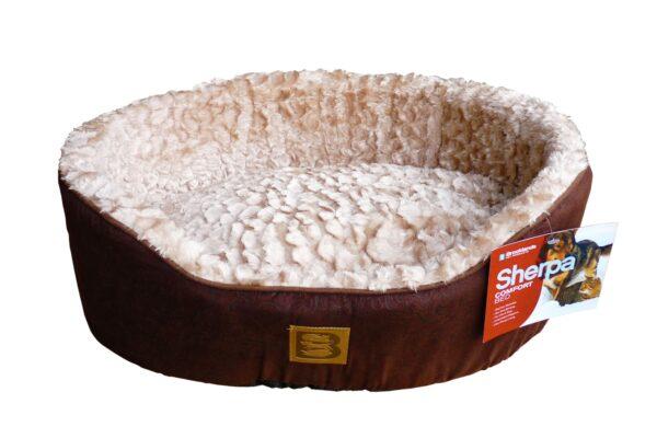 Sherpa Sheep Skin Style Dog Bed