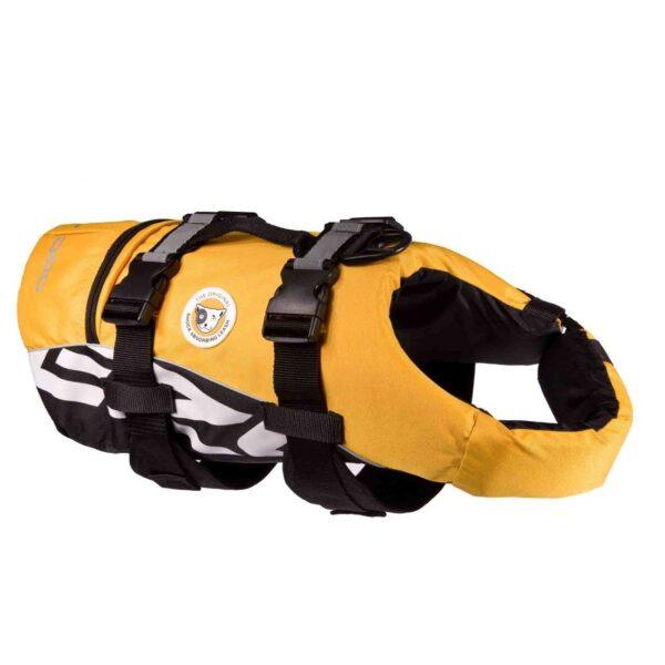 Yellow Ezydog Life vest